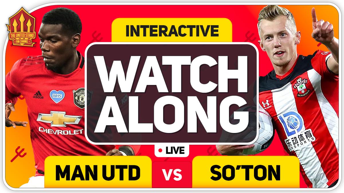 HALF TIME  Manchester United 2-1 Southampton.  Thoughts 👇  https://t.co/BqjVvqXcM7 https://t.co/A1lZmd35Pa