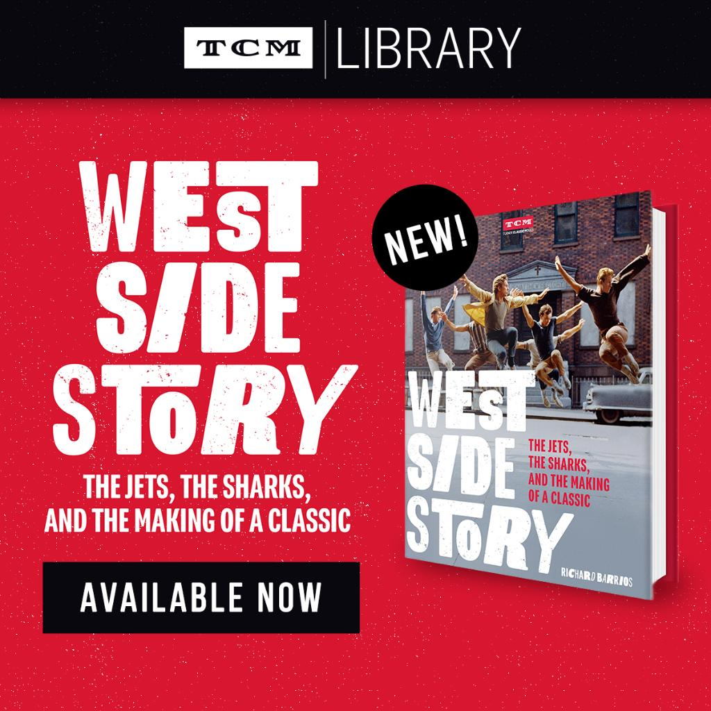 "Were excited to announce that ""West Side Story: The Jets, the Sharks, and the Making of a Classic"" is now available in the TCM Shop! From Richard Barrios comes this captivating & richly illustrated account of the making of the ground-breaking film 👉 myt.cm/WestSideStoryB…"