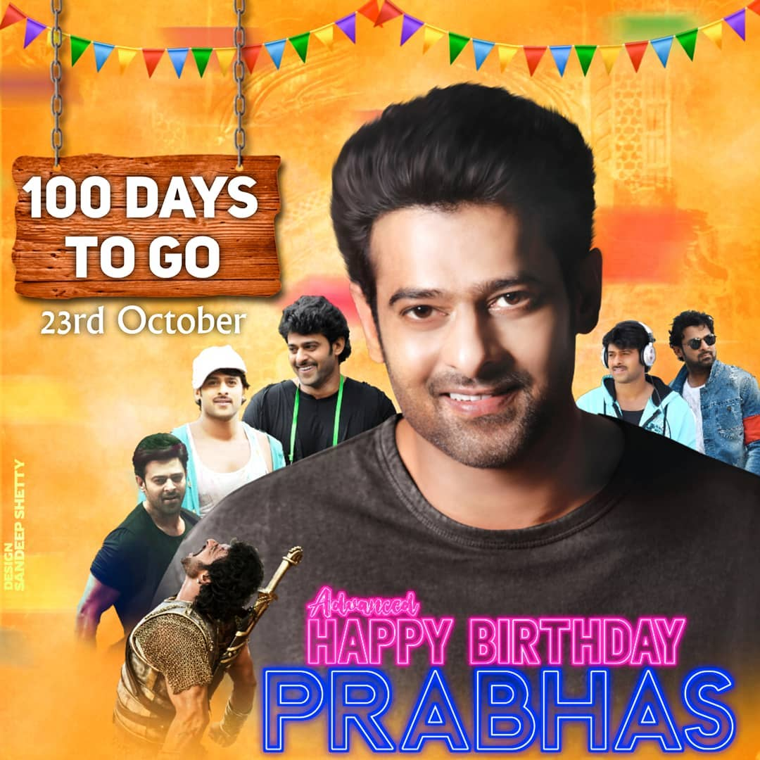#AdvanceHBDPrabhasANNA #Iamwaiting,,,,,,,, #Prabhas  💙 #prabhasraju  #prabhasfans #Prabhas #100Daysonly #October23 #darling https://t.co/Rv5kEXIyNP