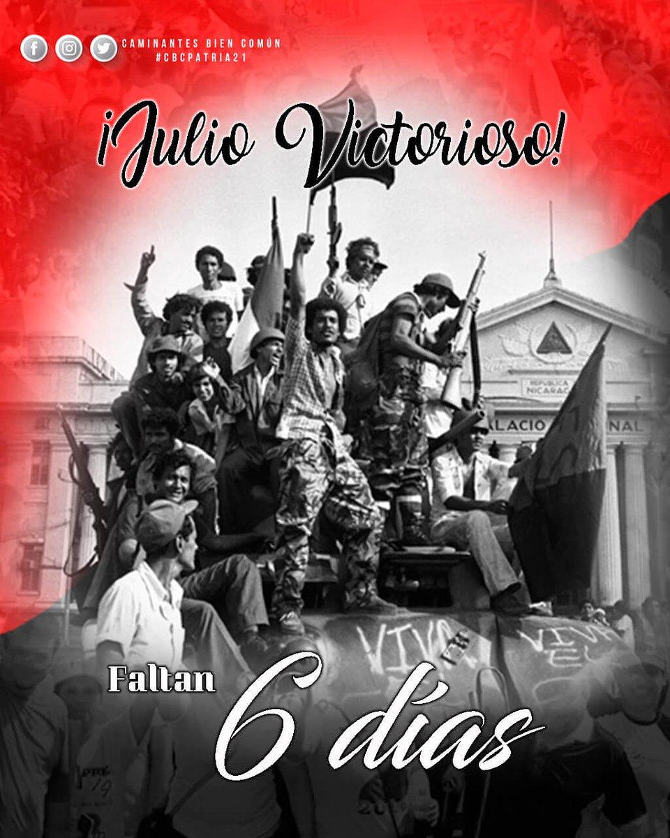 #41ElPuebloNoSeDetiene #41ElPuebloUnido #JulioVictoriososSiempre QUE VIVA LA JUVENTUD SANDINISTA!!!!!! https://t.co/NXv3fqMMHC