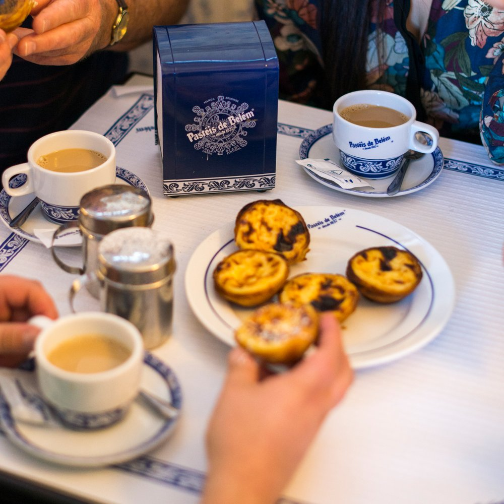 If you could invite someone for a coffee and a Pastel de Belém in #Lisbon, who would you invite and why? Let us know  🤗 https://t.co/FviXr9HaZu