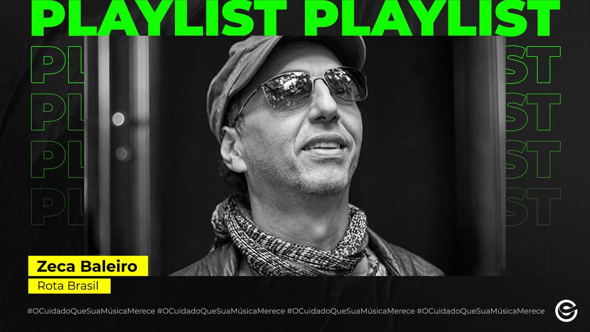 """Nosso querido @zecabaleiro_of, acabou de lançar, em todas as plataformas digitais """"Canções d'Além-mar"""", seu novo álbum. 👏🎶✨🎧 O projeto conta com 11 faixas e a colaboração de músicos brasileiros e portugueses. Escute agora na playlist #RotaBrasil: https://t.co/3mJyPLkVbC https://t.co/hy4CoPlL7S"""