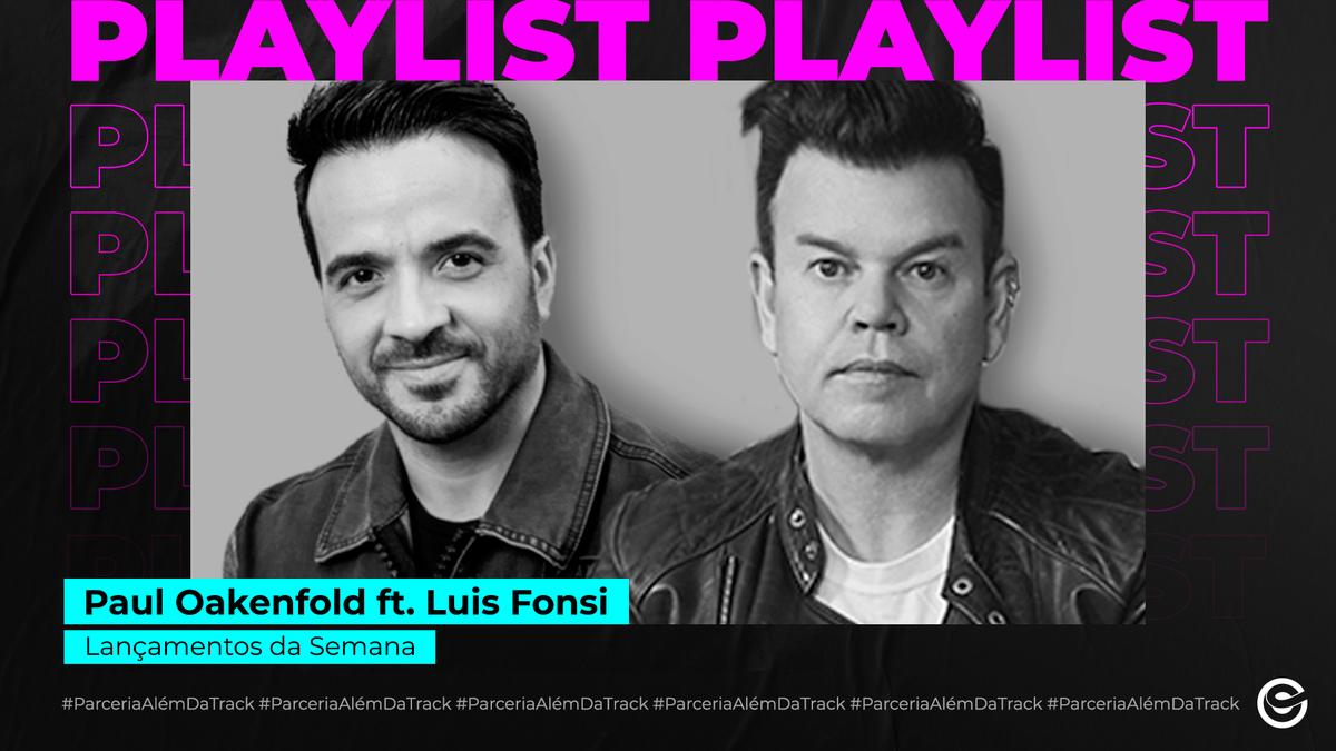 """O produtor e DJ @pauloakenfold, acabou de lançar """"The World Can Wait"""", sua nova música em parceria com o hitmaker @LuisFonsi. 💥🚀🎧👏 A música chegou com tudo nas plataformas digitais, e está animando a playlist #LançamentosDaSemana. Escute agora: https://t.co/2Qkqvr8mJO https://t.co/vnHFuPxPeK"""