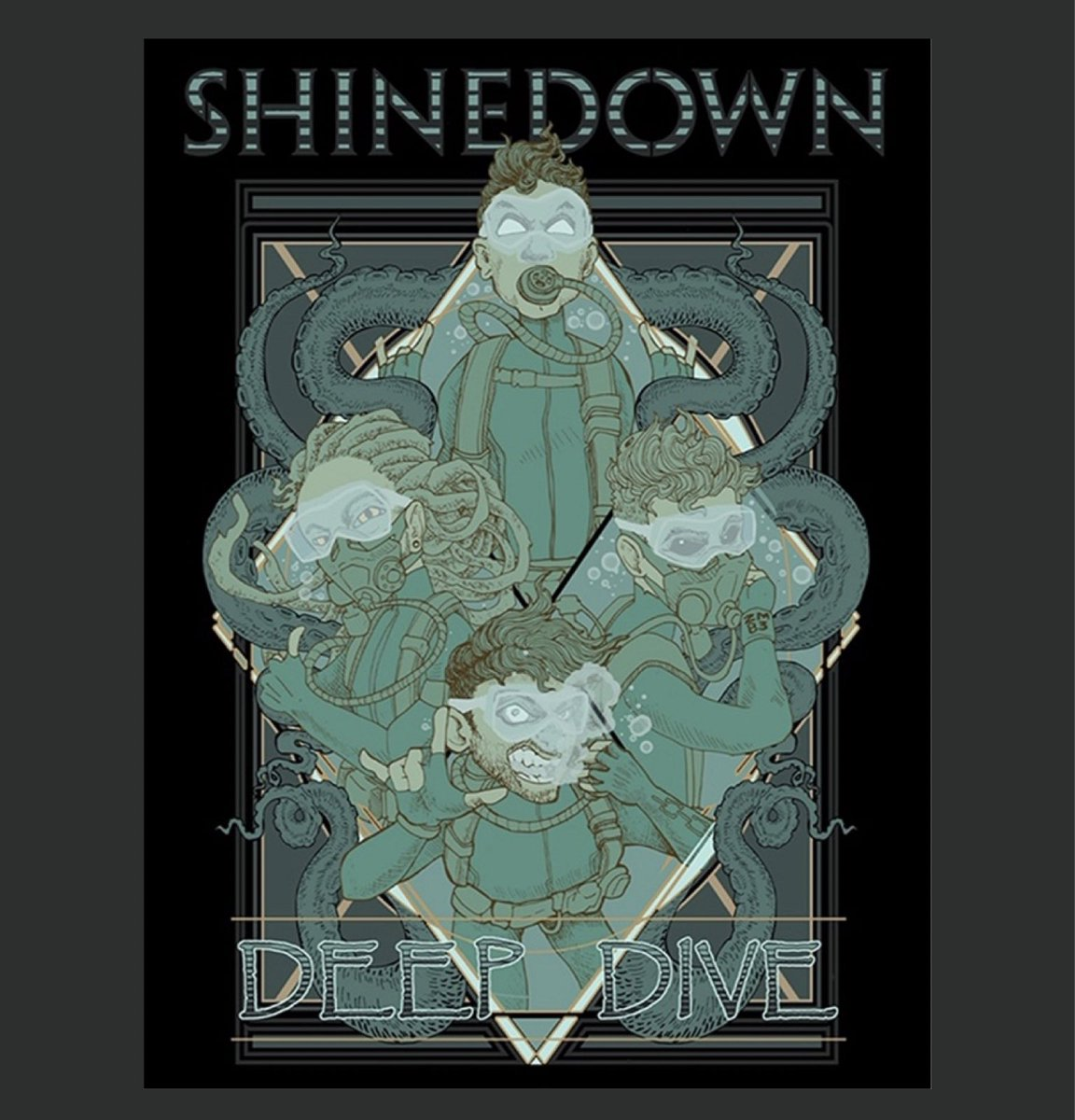 ICYMI ‼️ We just dropped another round of fresh merch including this sweet poster! Although we couldn't do this tour this year, we still wanted to make the Deep Dive merch line available to you. Check out ALL of our new products at store.shinedown.com