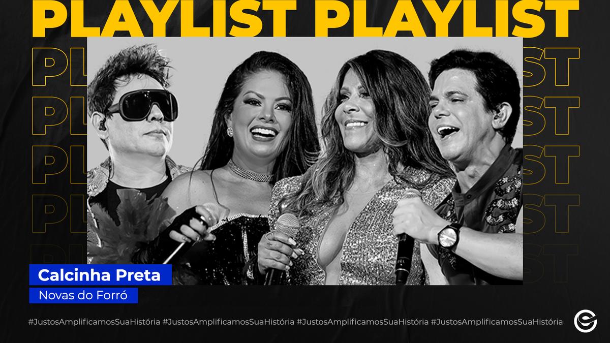 """Com participação de @SaiaOficial, a banda @calcinhapreta, acabou de lançar o segundo volume do EP faz parte do DVD comemorativo """"CP 25 Anos"""".  O trabalho conta com 4 faixas, com destaque na música inédita """"Daniela"""". Bora ouvir na playlist #NovasDoForró? https://t.co/qiHAYfIT79 https://t.co/4rfKNgB10p"""
