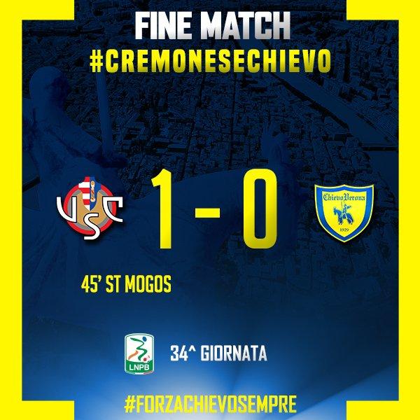 Cremonese Chievo 1 0, colpaccio salvezza firmato Mogos!