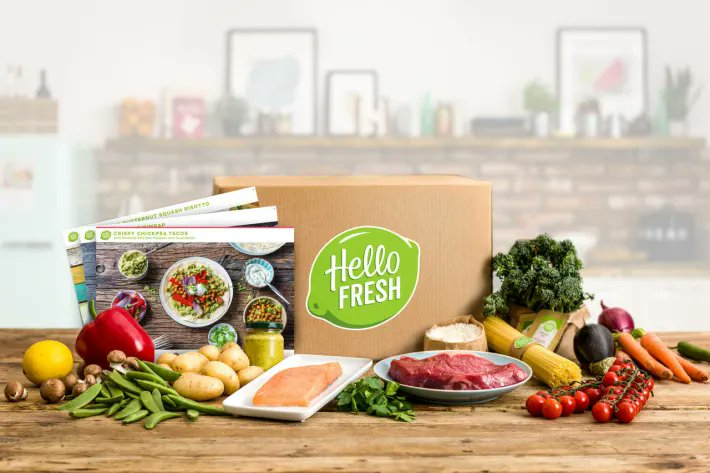 #HelloFresh delivers great recipes and fresh ingredients to your home each week. Cook fast healthy recipes designed by nutritionists and chefs. Get $80 off your first five boxes & FREE Shipping on your first box. Subscribe today to earn $10 Cash Back!  https://t.co/1YCaNJetjF https://t.co/stvLx3Uton
