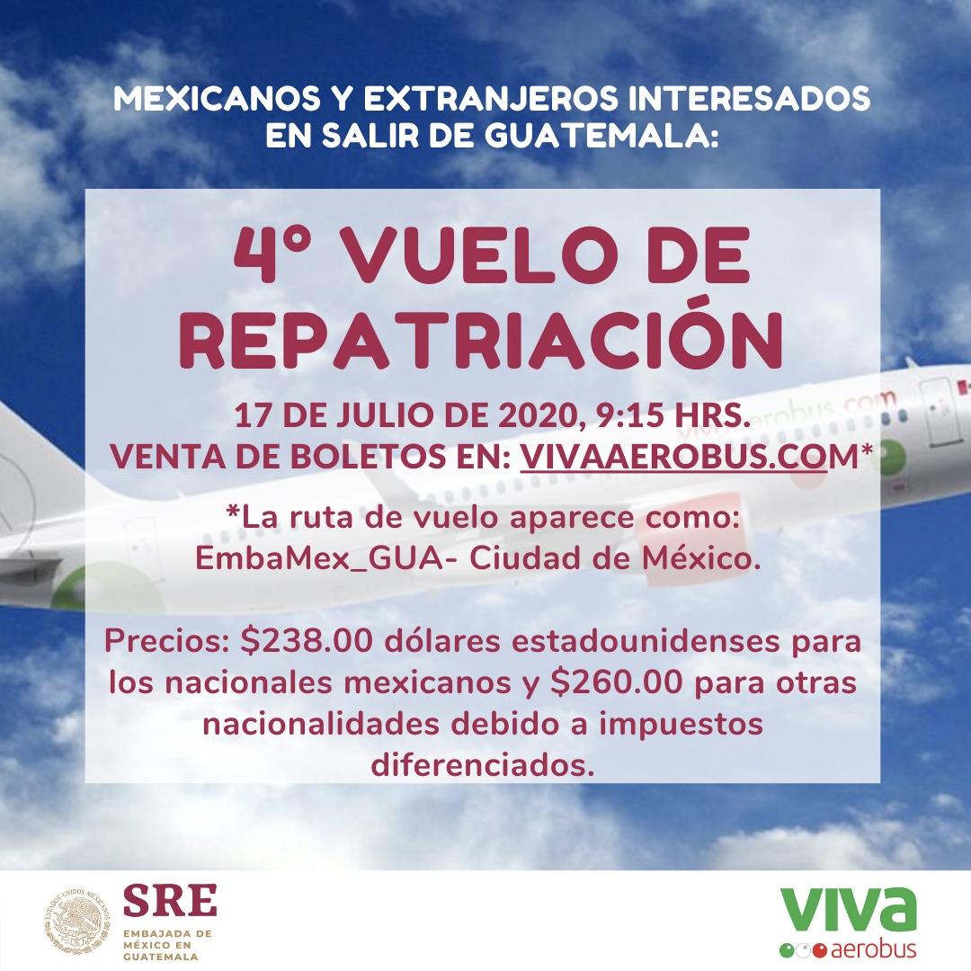 ✈️⚠️Vols commerciaux au départ de Guatemala ⚠️  Plusieurs vols commerciaux au départ de Guatemala sont organisés au mois de juillet 2020, les réservations se font directement auprès des compagnies.  Plus d'info ➡️ https://t.co/pDpEPe2jMp https://t.co/dlwZ7m2qj8