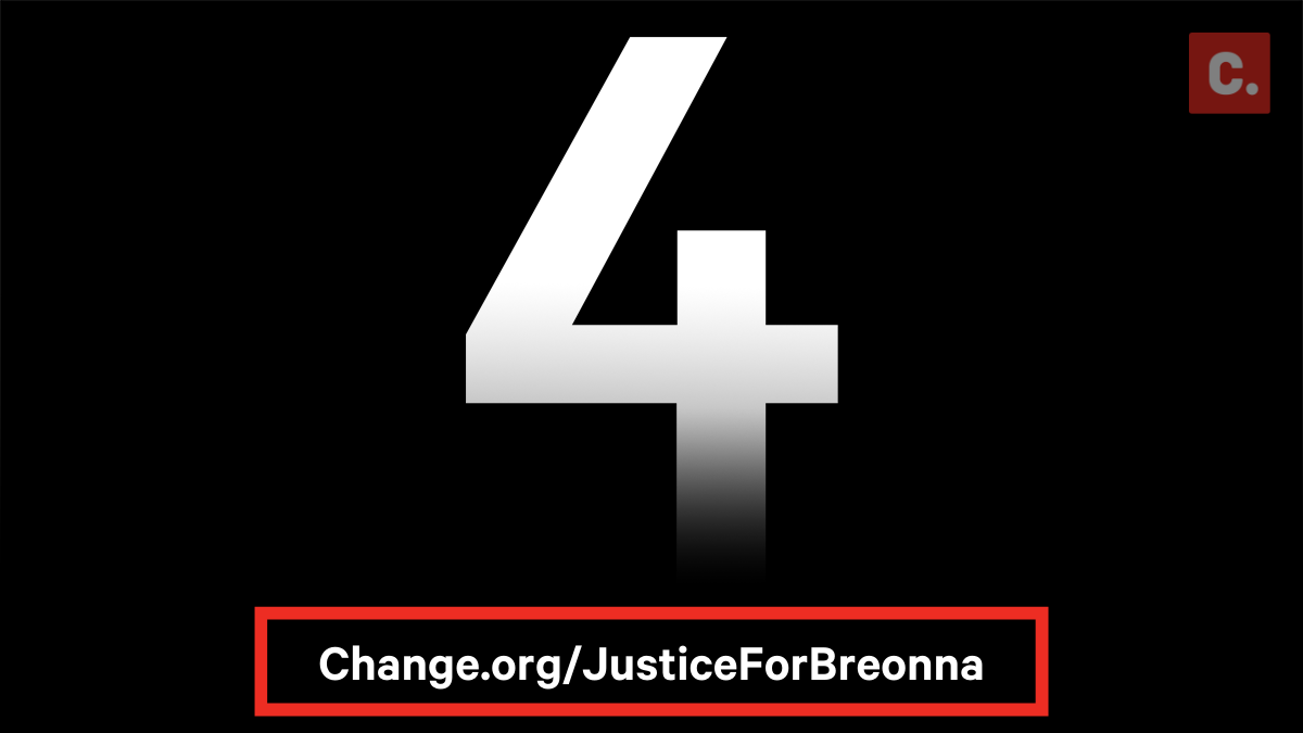 Exactly four months ago, Louisville police officers killed Breonna Taylor.  Her family, petition starter Loralei, and almost 10 million petition signers continue to demand justice: https://t.co/72JVQzJtpZ https://t.co/bC3wRanNiY
