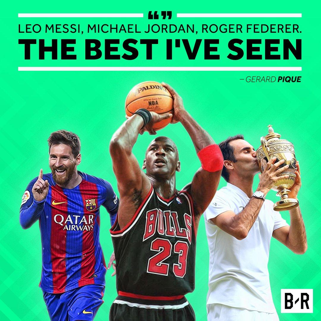 Do you agree? #Messi #MichaelJordan #MJ #rogerfederer  #GOAT https://t.co/zmr2pYMdp2