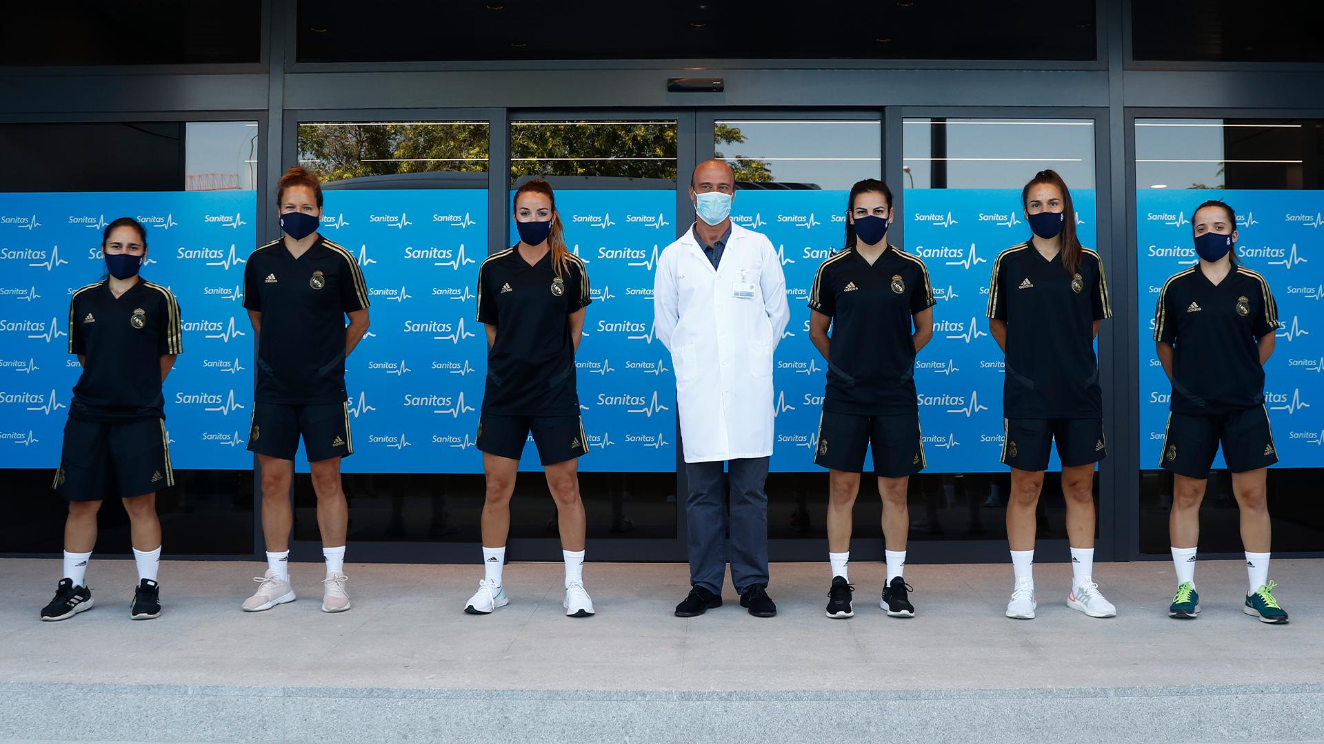 Las nuevas jugadoras del Real Madrid Femenino (Foto: RM).