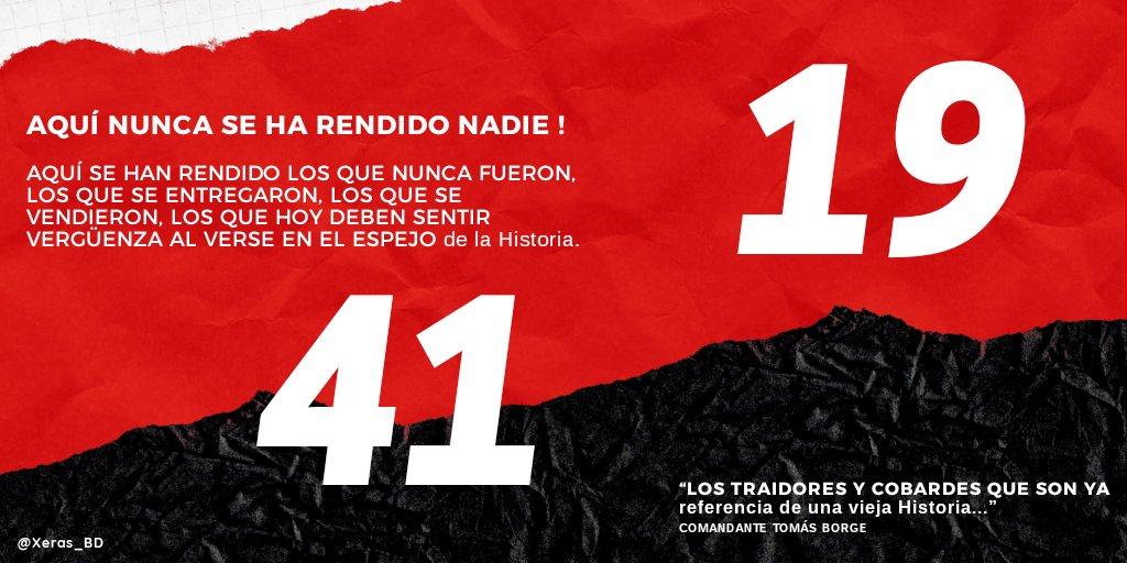 Aquí no nos rendimos Jamás porque #41ElPuebloNoSeDetiene ✊🏼  #41CualEsLaConsigna 👉🏼 ⒻⓈⓁⓃ #PLOMO19 ❤🖤 https://t.co/9WihukciSI