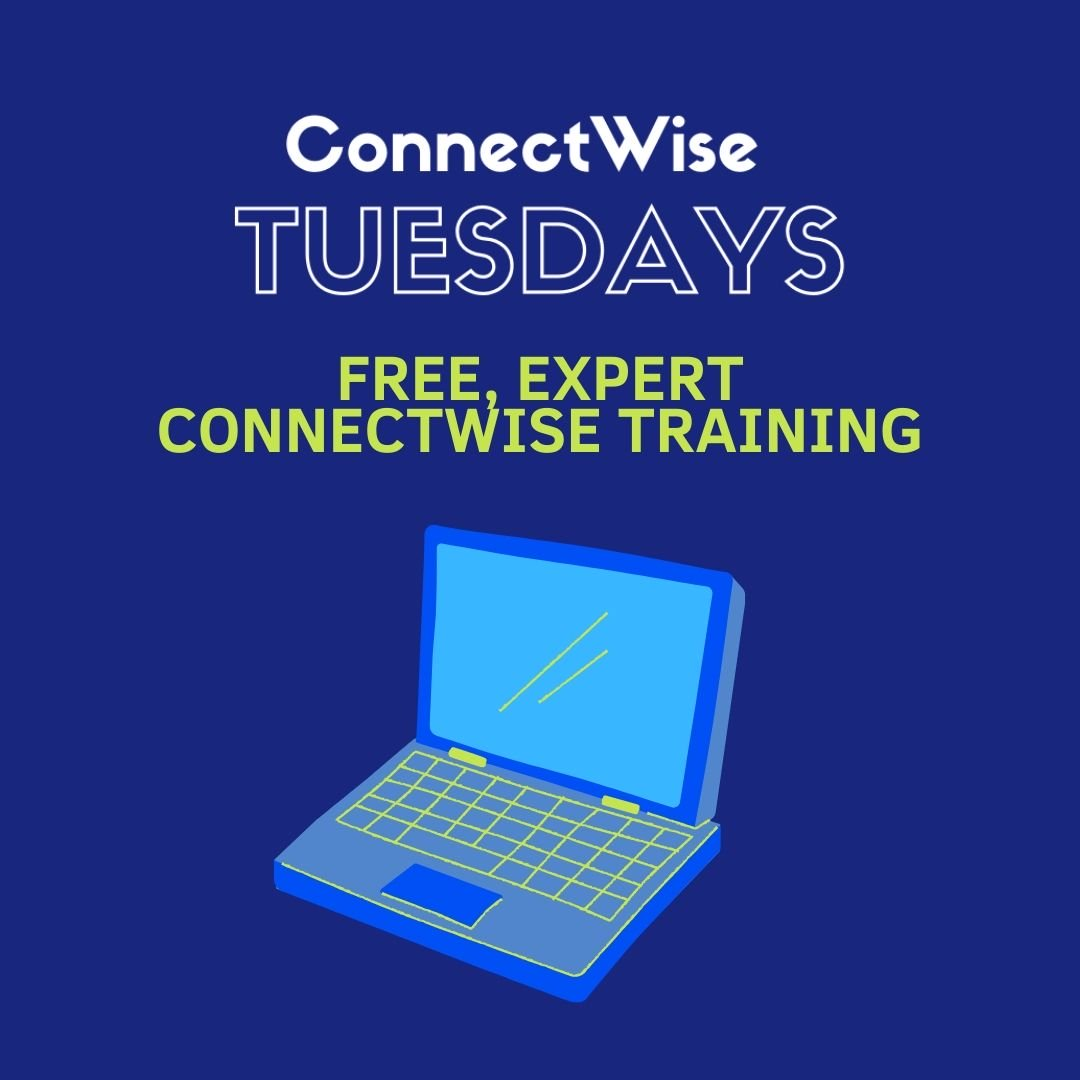 Somethings only happen once a week and somethings are actually free (hard to believe). Join us for ConnectWise Tuesday free training with a live, Bering McKinley expert. All you have to do is register and come with questions. https://hubs.ly/H0s5Rk70 pic.twitter.com/Oc66mMf5Bi