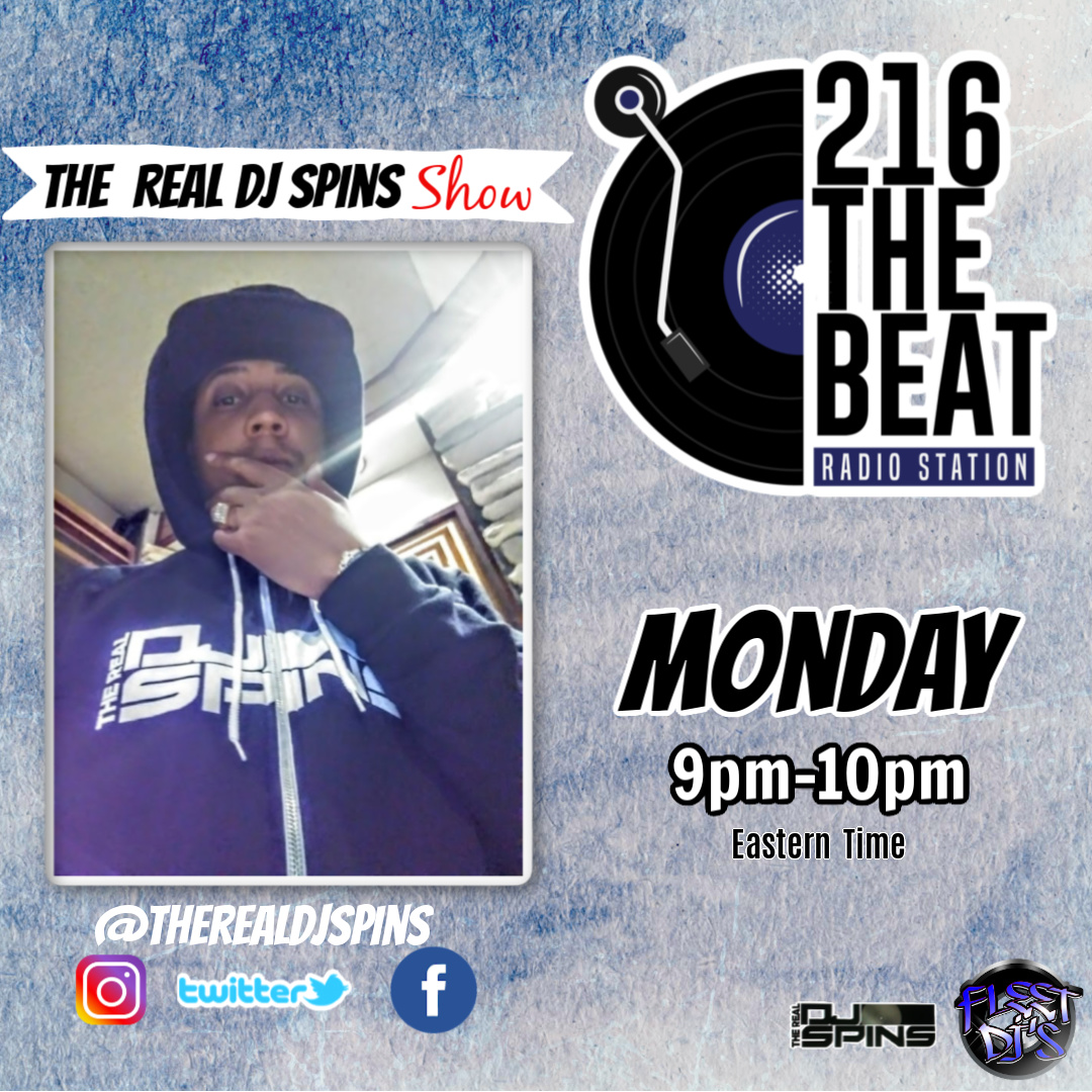 Check Out My Show Right Now On @216TheBeatRadio From 9pm To 10pm Est Time Featuring My Interview With @MrCrunchyBlack & The Spins Monster Mix Tune In #HipHop #Rap #216TheBeat #music #DJ #Tunein   Click Here: https://t.co/hOzJ0b5uBd https://t.co/50ywuAhift