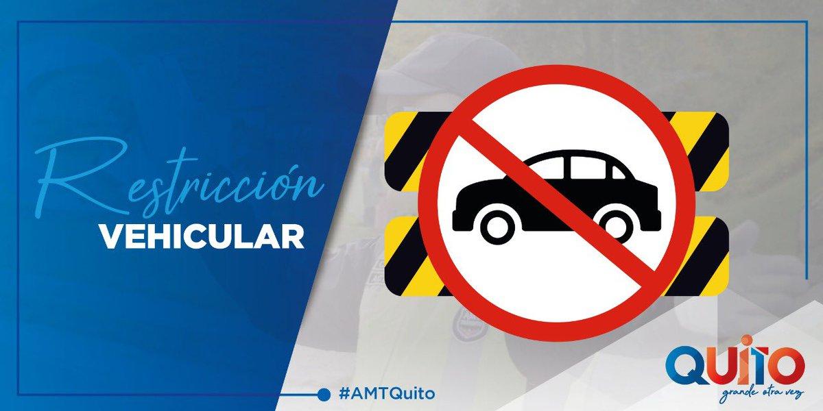 #AMTInforma Accidente de tránsito sobre la Ajaví y Huigra, cerrado carril derecho en sentido occidente - oriente. Personal operativo gestiona la movilidad. https://t.co/jw94YHH52O