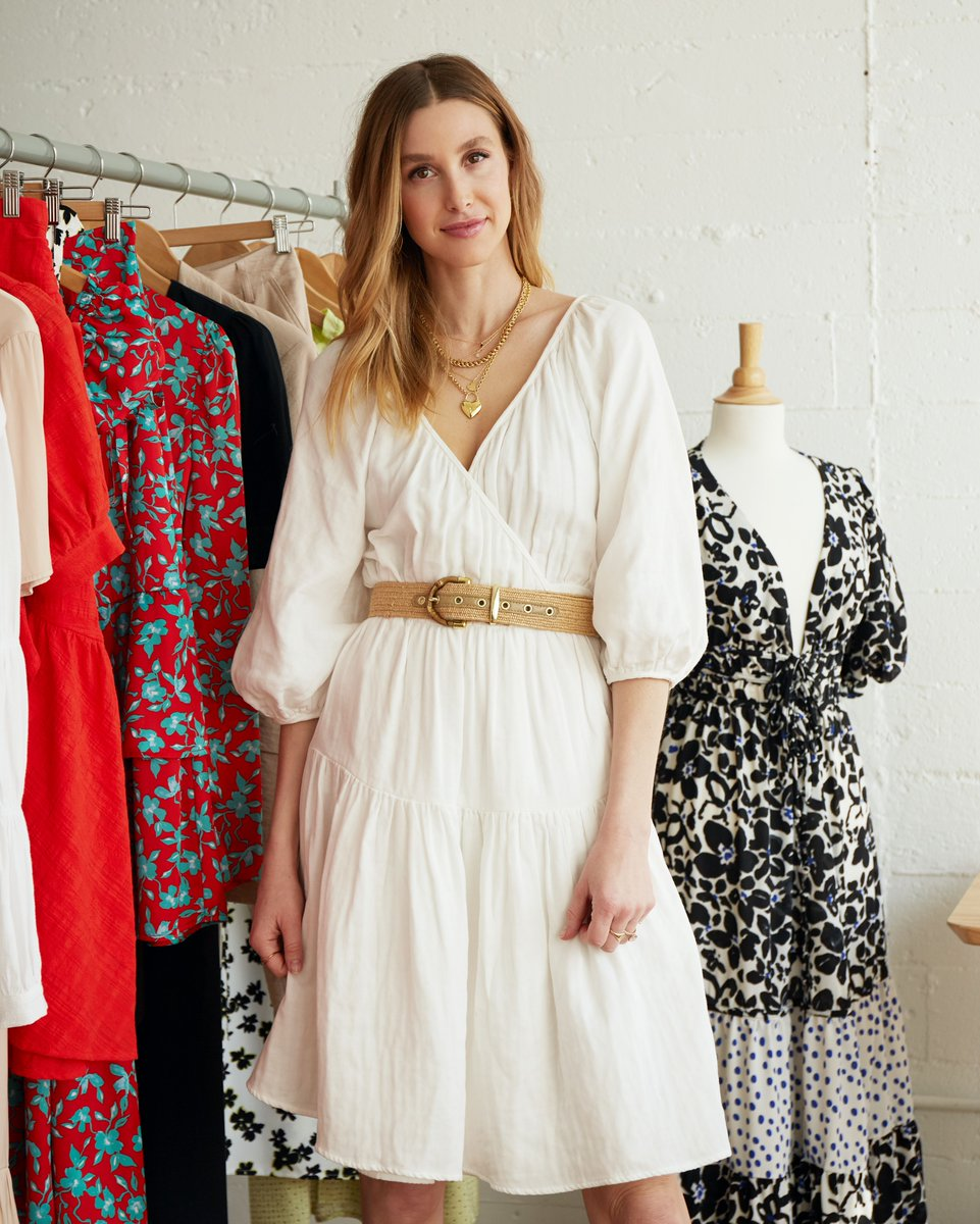 Introducing our latest capsule collection with TV star, entrepreneur and busy mom, @whitneyEVEport 💫  She's designed the ultimate laid-back collection featuring breezy dresses and chic printed sets, with a third of her styles made from recycled fabrics ➞ https://t.co/6coP6yVlBx https://t.co/fEDZGPohFD