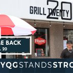 Image for the Tweet beginning: WELCOME BACK to Grill Twenty