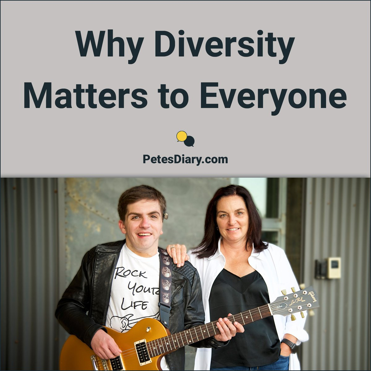 Society moves in a positive direction when we communicate with the intent to understand different viewpoints.  That's why #diversitymatters to everyone.  Read more here  https://www. petesdiary.com/post/diversity -matters-to-everyone  …  #empathy #teaching #growthmindset #positivechange <br>http://pic.twitter.com/gkNUPzA50j