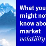 Image for the Tweet beginning: This year's market volatility has
