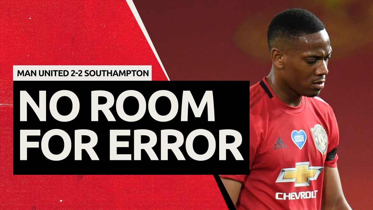 Live Now 🔴  No Room For Error! Man United 2-2 Southampton Review  Shares, retweets & likes appreciated.  https://t.co/zQaiW6J0zV  #MUFC #ggmu #manutd https://t.co/12gtyhcyAR