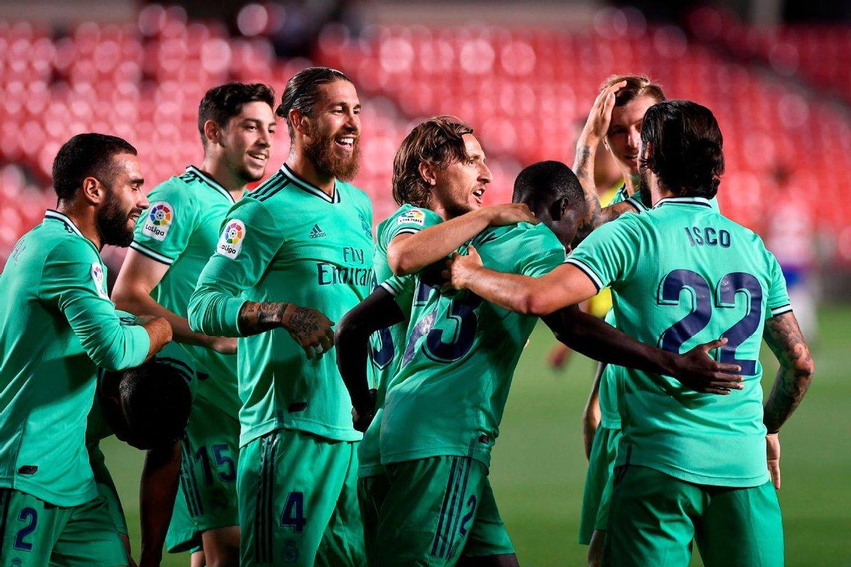 Xem lại bóng đá Granada vs Real Madrid, La Liga – 14/07/2020