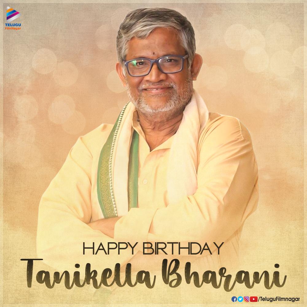 Sending out our birthday wishes to the multi-talented @TanikellaBharni garu. Wishing you good health and happiness always.  #HBDTanikellaBharani #TanikellaBharani #TeluguFilmNagar pic.twitter.com/mhxtYxrEGv