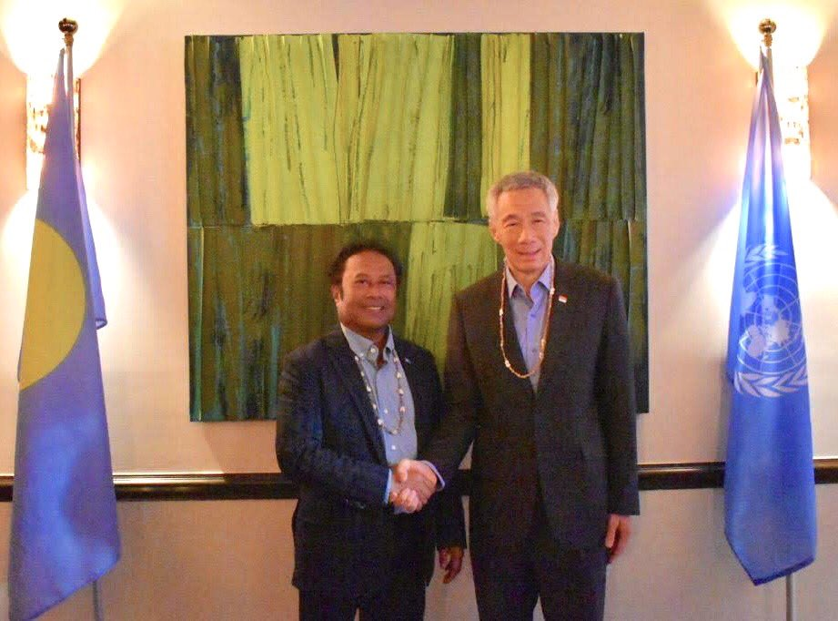 Congratulations to 🇸🇬 Singapore PM @leehsienloong on your re-election and party's victory. As a small island state, Singapore has been an important partner in championing the voices of small states in multilateralism, and 🇵🇼 looks forward to our continued partnership. https://t.co/TspqL11dPP
