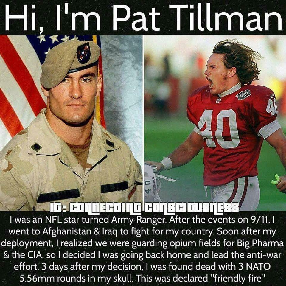 Never forget what they did to Pat Tillman.https://bit.ly/32gGqaG #curatedpic.twitter.com/QPDHo9ZAkJ