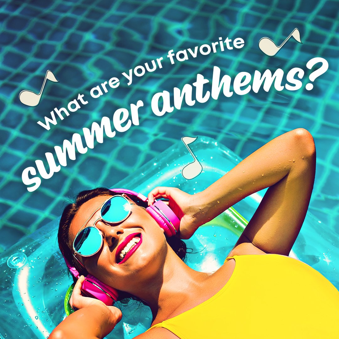 What are some of your most memorable summer anthems? Comment and you might just find your summer jam on our playlist tomorrow! #spotify #playlist #tuesdaytunes #eegeestunes #vibes #music #takeiteasy #eegees #eegee #tucson #phoenix #arizona #watermelonsugarhigh #music #summerjams https://t.co/2xATc2uooG