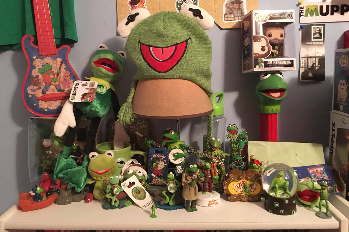 My Kermit the Frog collection My Ker-lection if you will