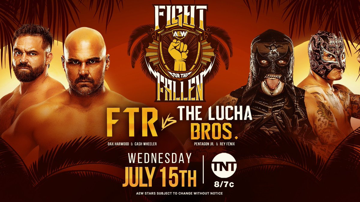 youtu.be/YqAs6PmhYus Wednesday night. Shit gets real. F❌ck The Rest. #FTR ✌🏼 #AEWDynamite