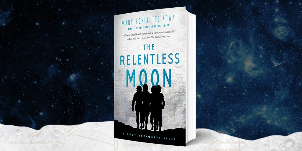 We're thrilled to welcome @MaryRobinette, author of #TheRelentlessMoon, to this week's Our Books, Our Shelves with @TorBooks! Check out her article, 'The Piss Problem: The Politics Behind Peeing in Space' here 🚀 https://t.co/ChlF8XeUN8 https://t.co/VnTmO5HtMu