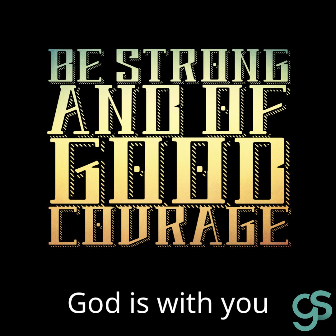 Be strong and of good courage. The enemy that you face you will face no more. Stay the course. Keep believing. God is with you.   #bestrong #beofgoodcourage #godiswithyou #believe #faith #dontquit #nevergiveup #keepbelieving https://t.co/M6tQCWXl6w