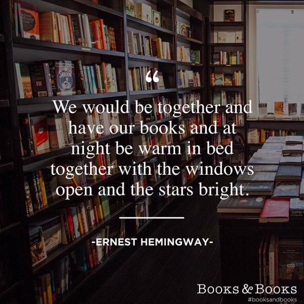 Hemingway before bed.  #booksandbooks #hemingway #bookquotes <br>http://pic.twitter.com/V0hs6YP6sw