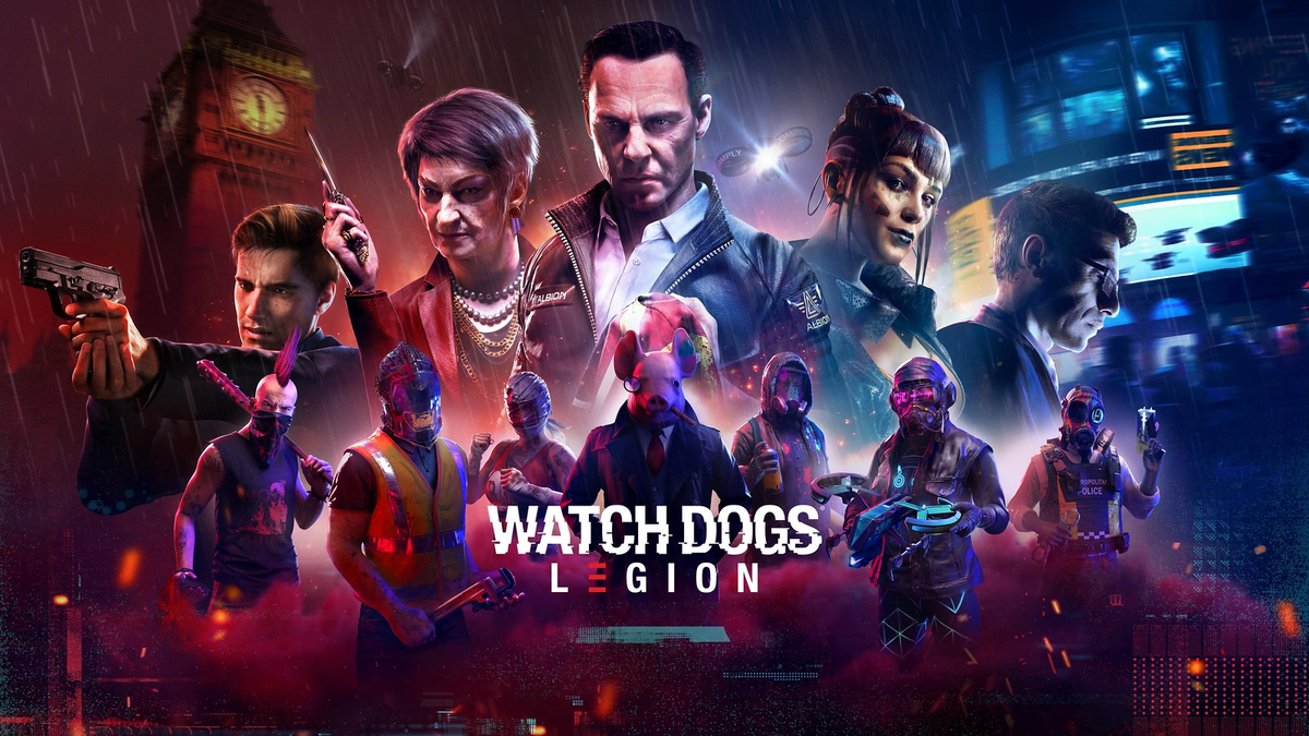 Watch Dogs Legion Release Date Revealed