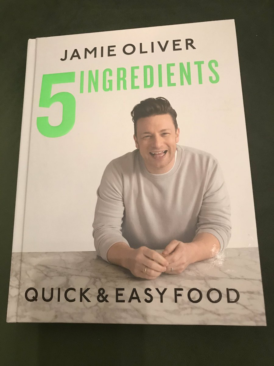 It might be a flight of fancy, but I'm going to attempt to cook. Hope @jamieoliver will be able to help. #cookbook #cantcook #wishmeluckpic.twitter.com/Db9oNbTRdD