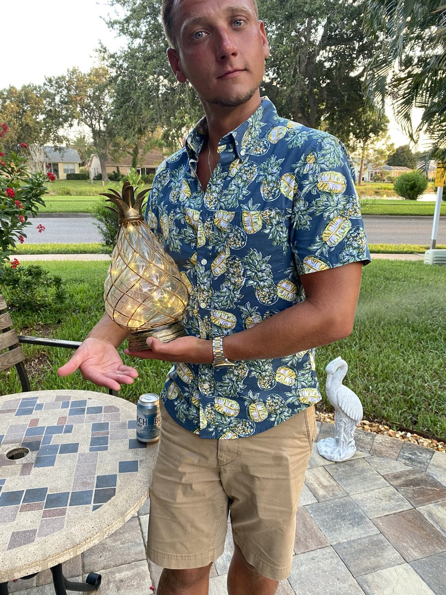 Got the trophy ready right here for the rematch between @SugarDunkerton & @IAmJericho. Pineapple Pete next Le Champion #AEWDynamite