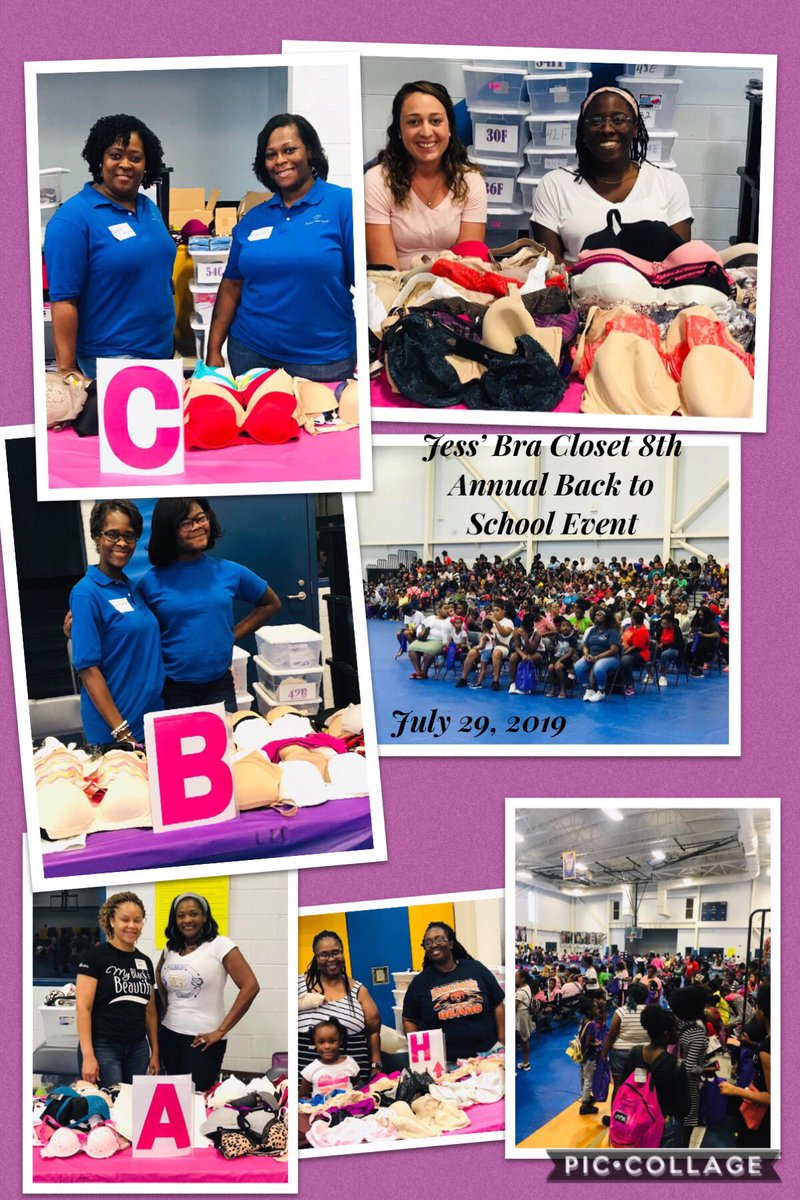 Please help support our 9th Annual Back to School Event by making a monetary donation or donation of NEW bras!  Todate, we have provided over 17,400 bras!  #rightfit #bras #jbc #community #support #jessbracloset #uplift #fitting