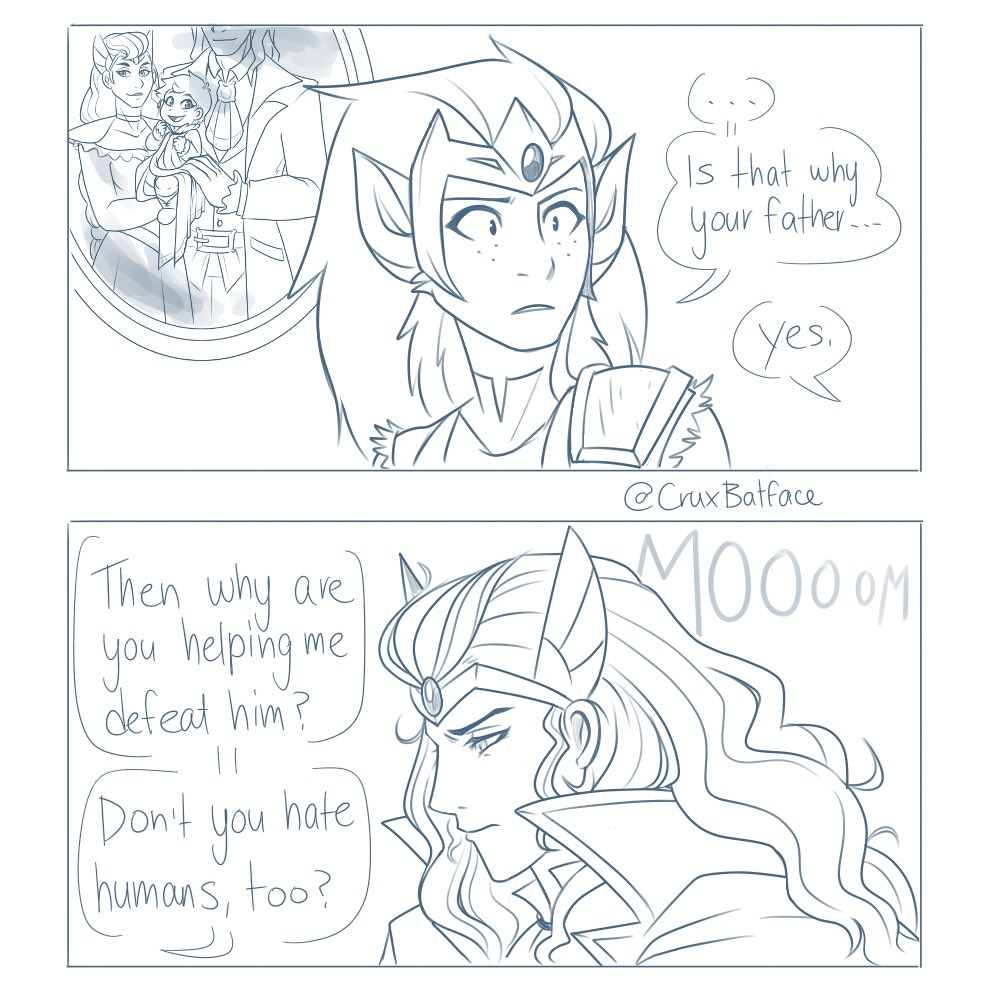 THE TRAGIC PRINCESS Part 2  Please do NOT repost anywhere!  Reminder that I will be tagging these as #CaSPOPvania from now on to make it easier to track em down!  #Spop #SheRa #Castlevania #Alucard <br>http://pic.twitter.com/n3NXj4JHRB
