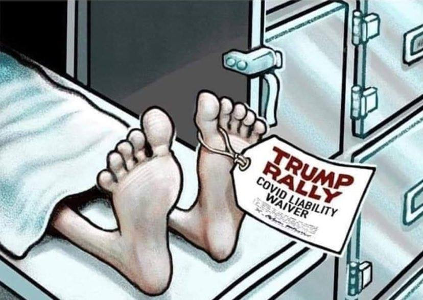 #135000Dead #NovemberIsComing #TrumpLies #1TermTrump #TrumpIsNotADoctor #TrumpCOVIDFails #DonTheCon #CoronaVirusLies #WhiteHouseLies #CoronaVirusMisinformation #TrumpLiesAmericansDie #TrumpLiedPeopleDied #TrumpGenocide #GOPFail #TrumpPandemicFailure #TrumpOwnsEveryDeathpic.twitter.com/8JwSB6Zo7K
