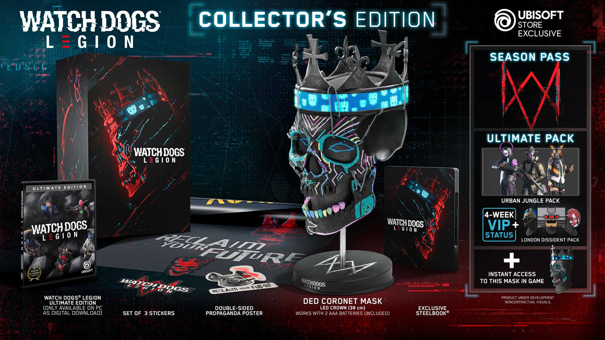 Watch Dogs Legion Collector's Edition