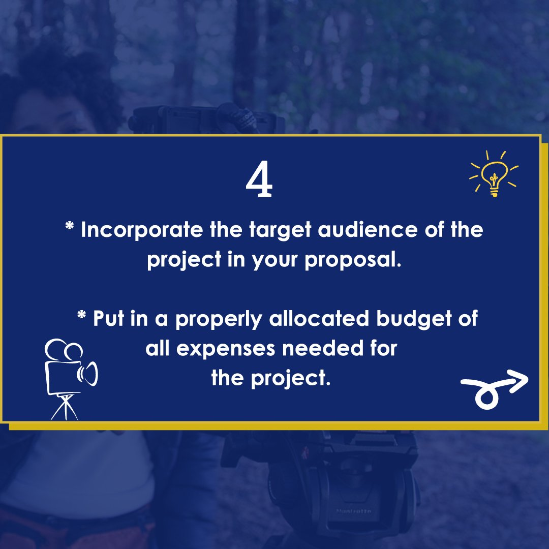 SOURCE: Shayo Oke @itsfolashayo in 'Writing A Strong Project Proposal' on The Movie Business Podcast Series with Shola Thompson @SholaThompson  #talentxafrica #filmproposal #tiptuesday #filmmakers #filmproduction #filminvestors #nollywood #director #filmproducer pic.twitter.com/vC7Yi7KBz4
