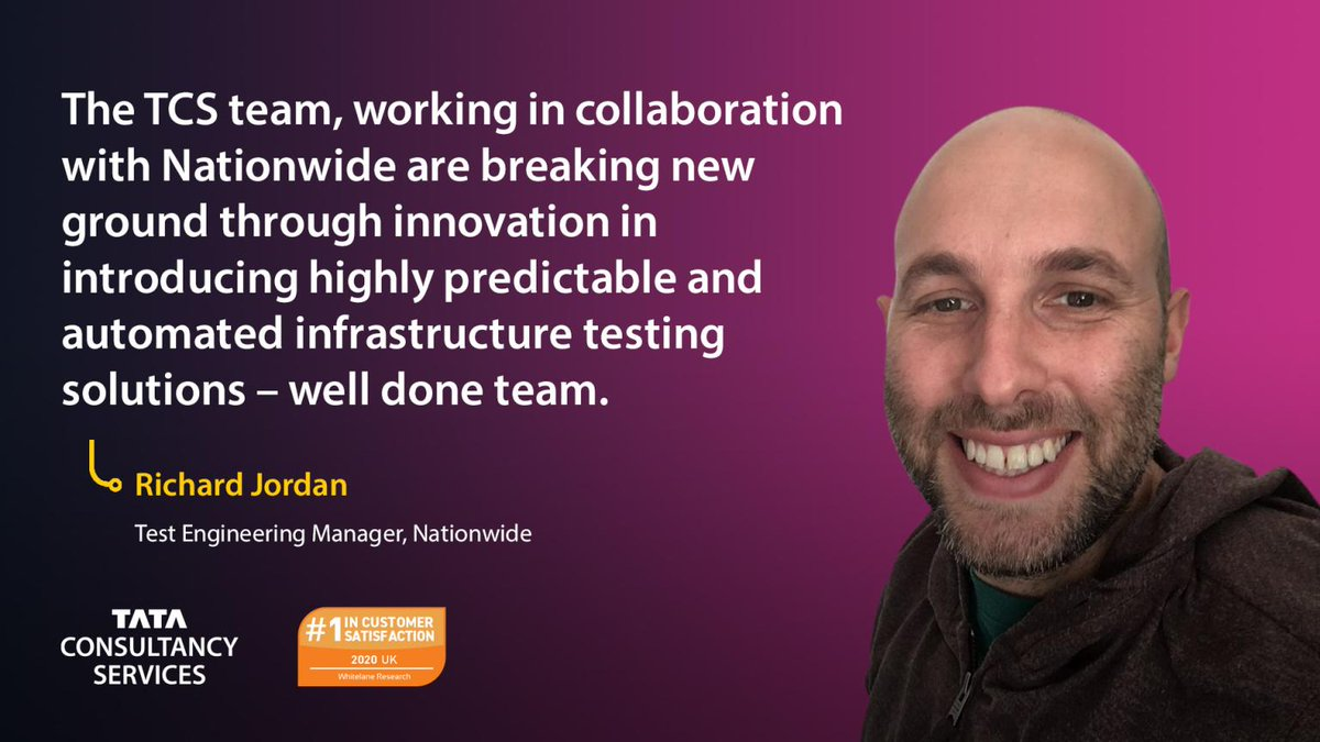 Richard Jordan reflects on @AskNationwide's collaboration with @TCS as it is ranked the number one IT service provider for customer satisfaction in the country: https://t.co/a30p5a5JNV https://t.co/ceVfOYvY6I