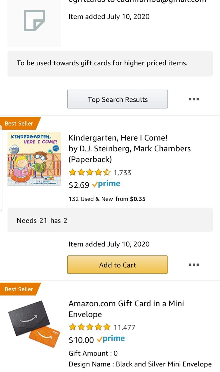 Looking to get a class set. I was blessed with 2 books now just to get to the whole set! Everyone 1 bought counts! https://amzn.to/3gNYKvN  #shrinkthelist #clearthelist #ClearTheListorg #pointsforteachers #BetterTogether #teachertwitterpic.twitter.com/aNjBSTaeUt