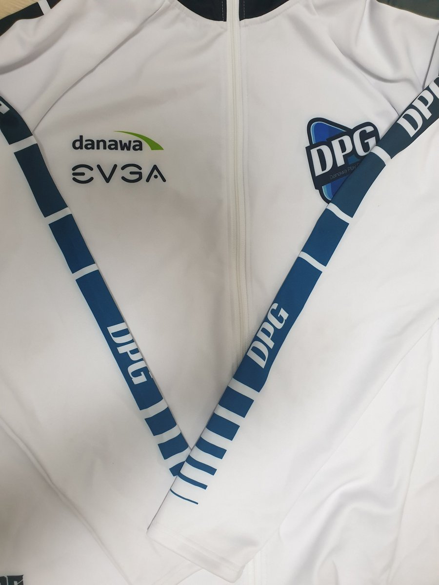 The jersey for DPG is arrived  <br>http://pic.twitter.com/BRdFaA7ELu