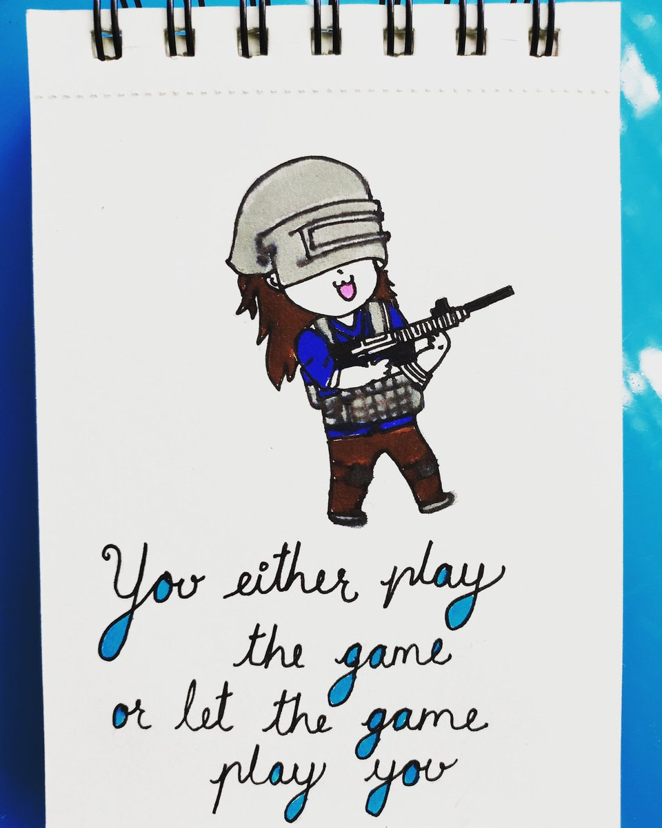 #You either play the game, or let the game play you# be game#staystrong#staypositive#weekdaydoodle#tuesdaydoodle#weekdaymotivation#dailydoole#doodlemotivation#doodleinspiration#doodlestory#sketches#drawings#art#artsy#artist#illustrations#artlover#instagram#artoftheday# pic.twitter.com/OIeQIlCV4V