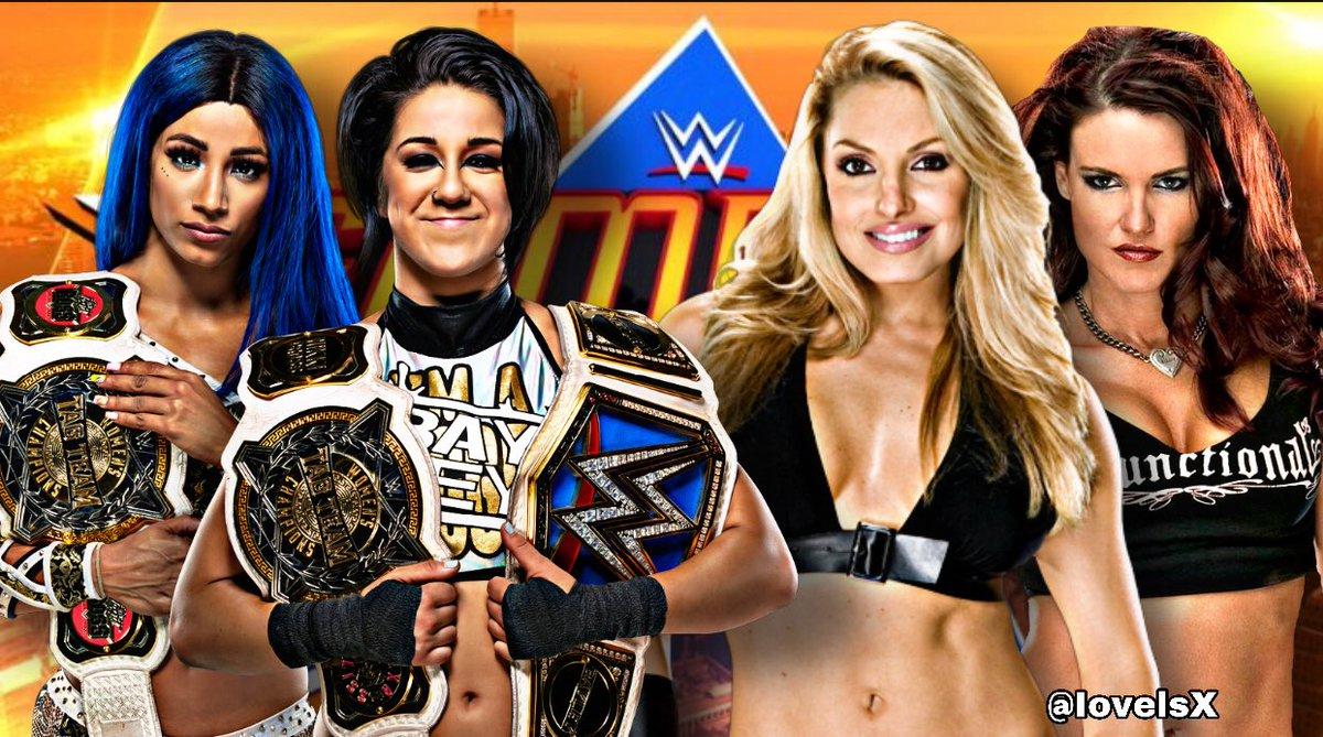 Bayley And Sasha Banks Want Trish Stratus And Lita at SummerSlam