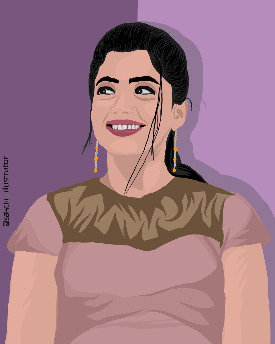 @iamRashmika @RashmikaFans @RashmikaTFC  @LoveRashmika @RashmikaHearts @RashmikaTrends @rashmika_addict @iamRashmika_Fan  #RashmikaMandanna #Rashmika #tollywoodactress #Telugu #TeluguFilmNagar #teluguactress #tuesdayvibes #illustration #illustrationart #digitalcreationpic.twitter.com/BKrtG6Tqy4
