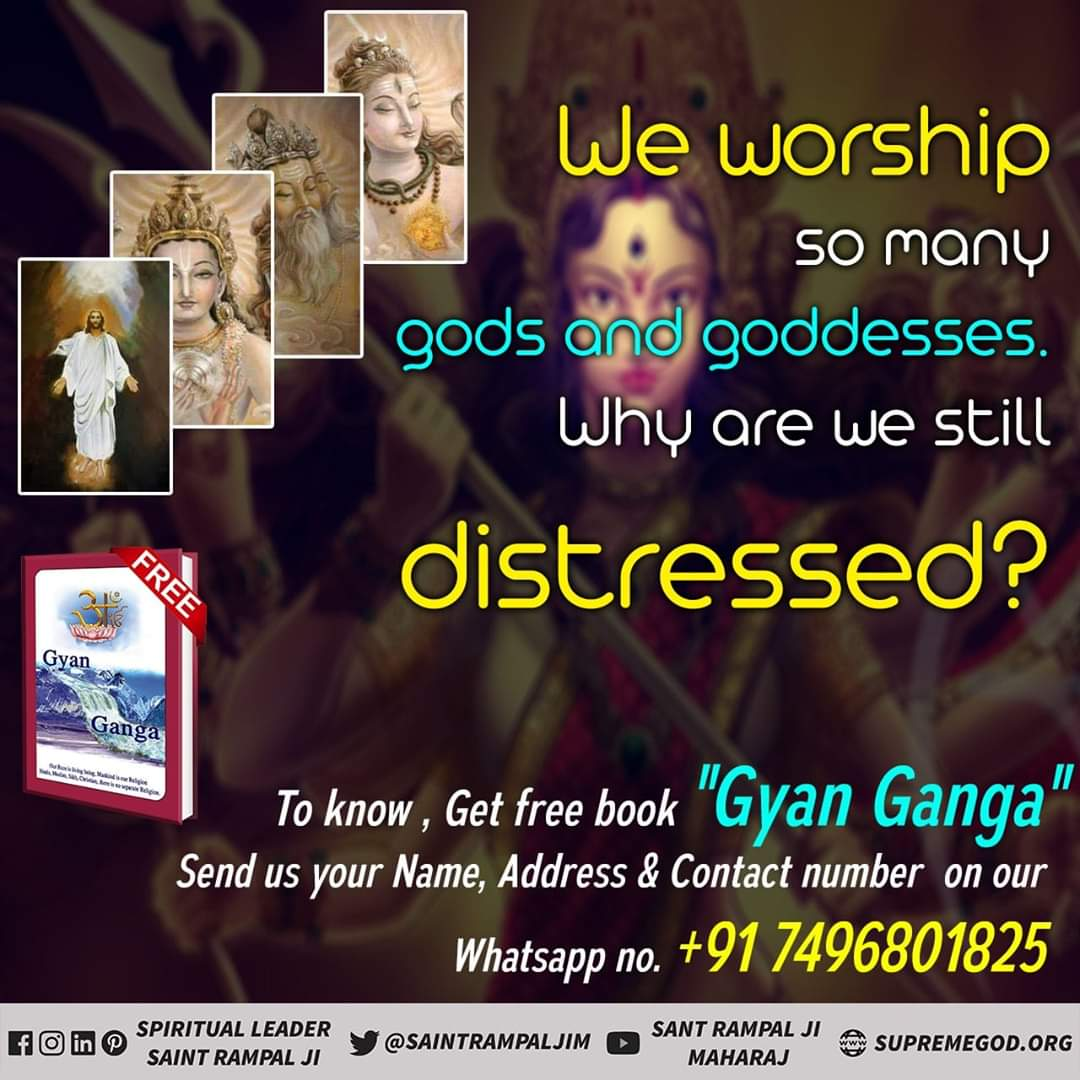 Everyone follows religious practices opposite to the scriptures based on one's own inference and as directed by the fake gurus .As a result of which neither does one get mental peace, nor physical comforts, and nor attains salvation #GodMorningTuesday  Watch  Sadhna tv at 7.30pm<br>http://pic.twitter.com/VFPFSQyV9G