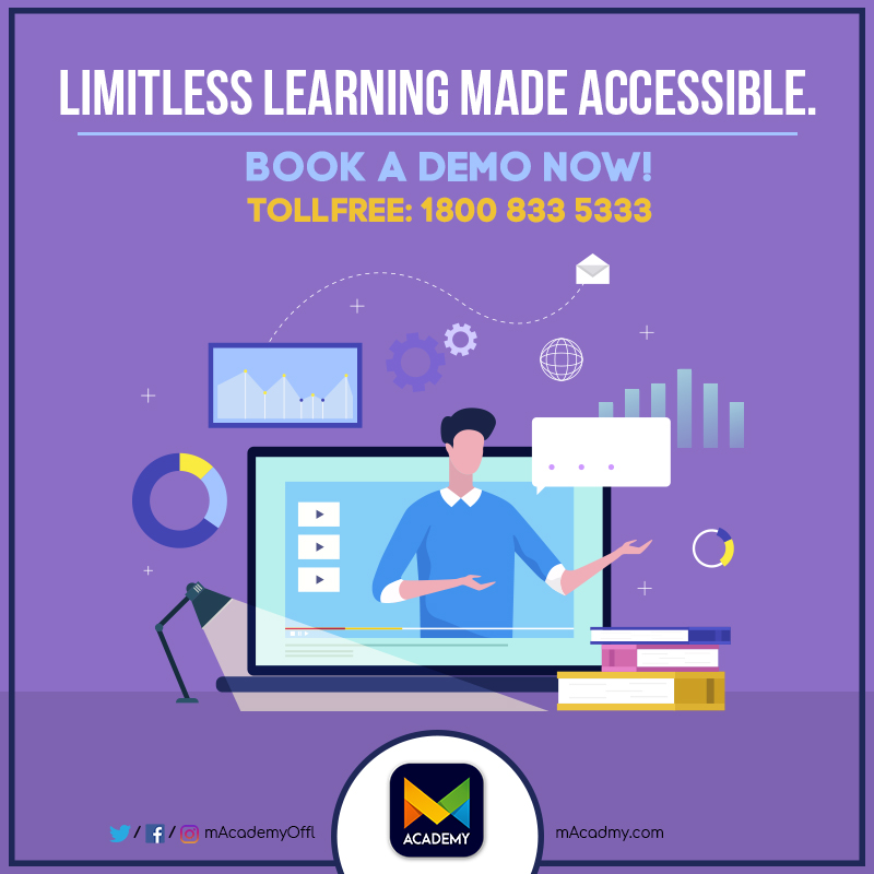 Unleash the power of E-learning with M Academy. Log on to https://www.macadmy.com/  and access premium JEE and NEET course material for free.  #mAcademy #LearnItYourWay #onlinelearning #NEET2020 #JEEMains #india #hyderabad #telangana #learn #learnfromhome #onlineclassespic.twitter.com/hmNALF8lLA